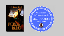 UNDER THE RADAR             Semi-finalist in the Mystery & Mayhem International Clue Book Awards