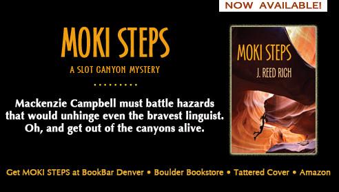 Moki Steps in a Bookstore Near You