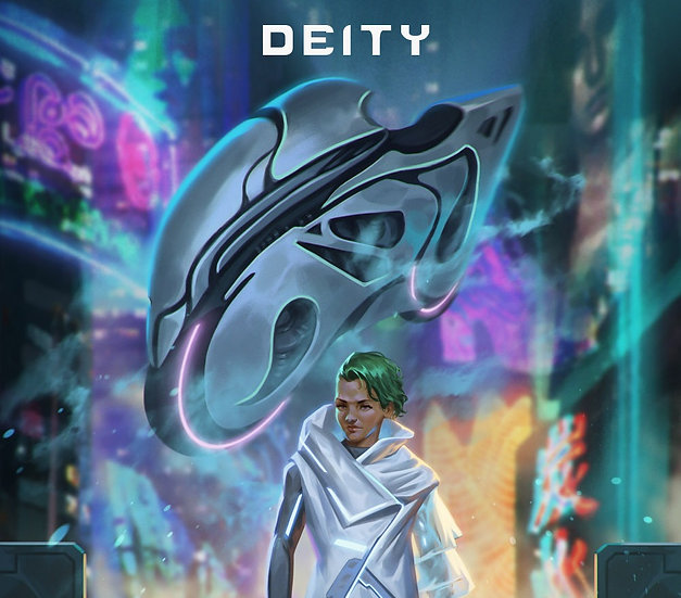 "Novae ""Deity"" Poster - Alternate"