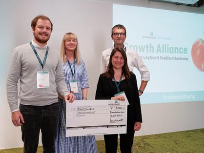 Success at Rentenbank Bootcamp: Organifarms wins start-up prize