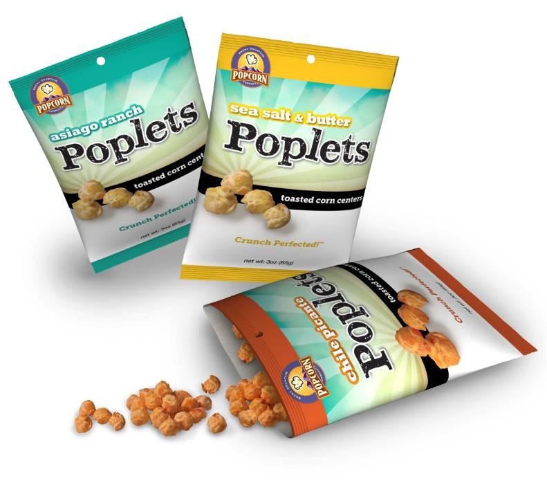Poplets Branding