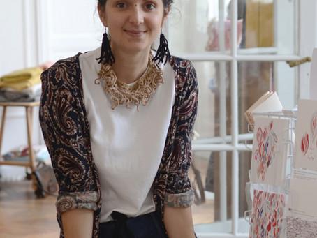 Organiser un team building upcycling avec Hélène, Slow Designer textile...