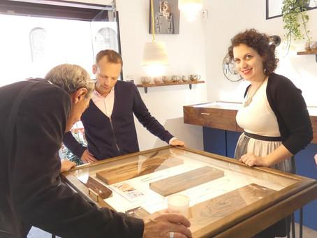 Organiser un team building artisanat avec Isabelle, Joaillière contemporaine…