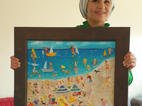 FATEN, Artiste Mosaïste syrienne en quête de liens durables avec la France…
