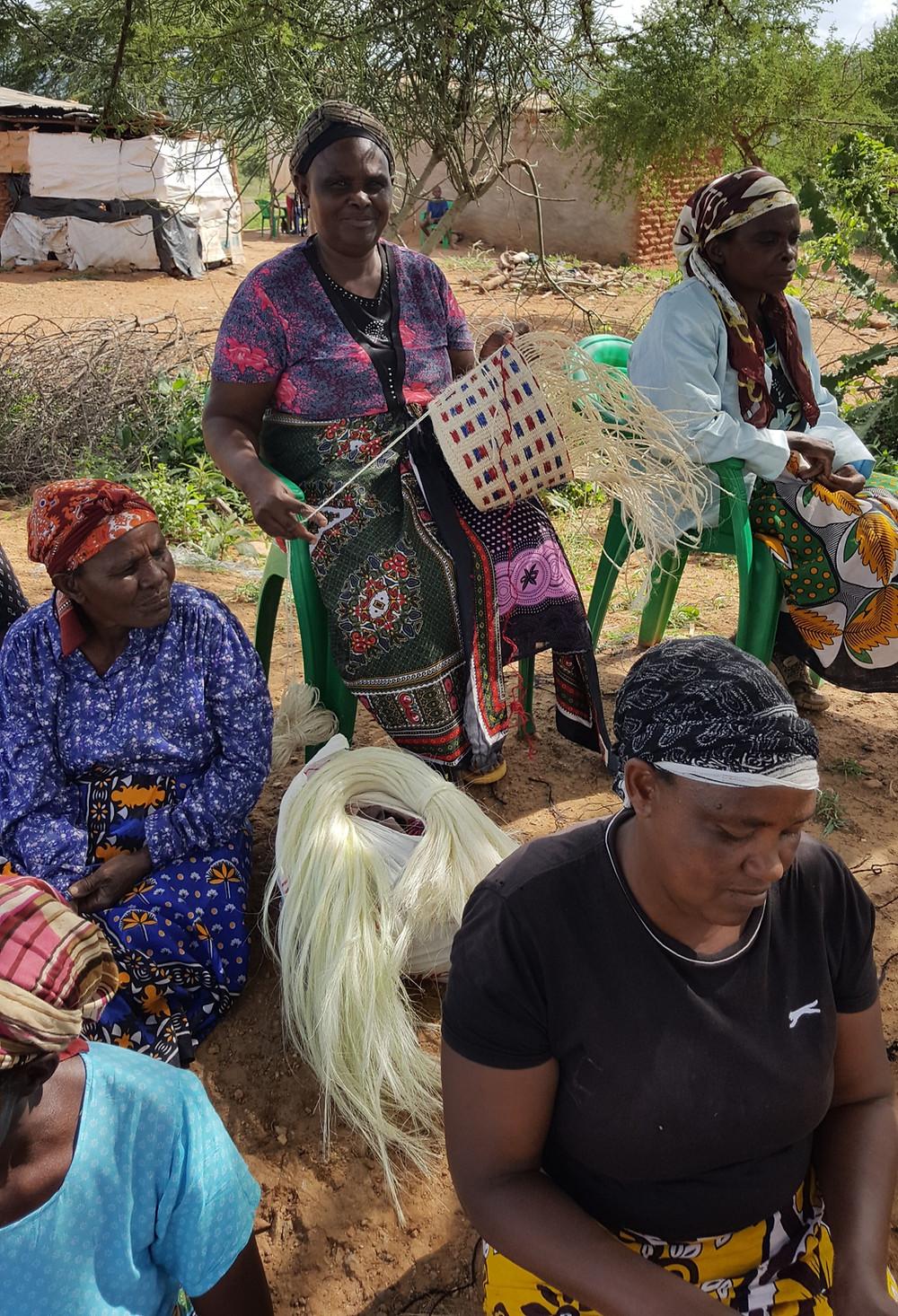 Fabrication-Panier-Sisal-Kenya-Worldmade-Stories