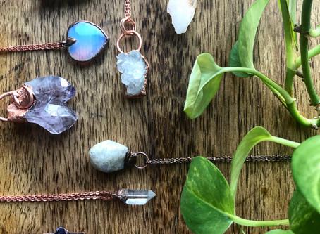 JTMcreations AKA Jillian - Raw crystal jewelry