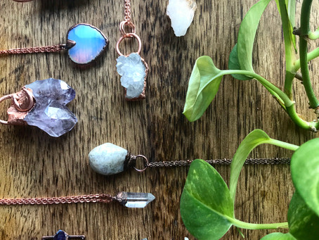 JTMcreations AKA Jillian - Raw crystal jewelry