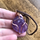 Thumbnail: Amethyst wire wrap necklace