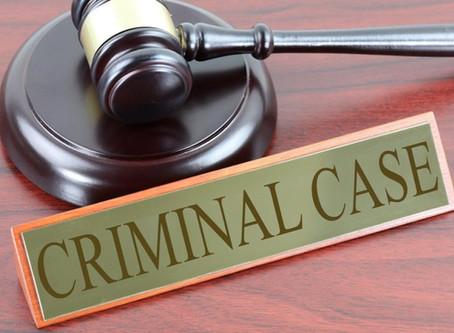 Stages of a Criminal Case