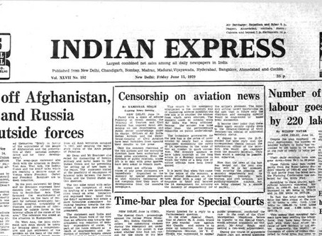 Case Analysis- Indian Express Newspaper v Union of India