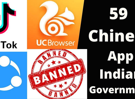 Legal and Constitutional Implications of the Ban on 59 Chinese Apps.