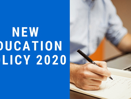 An Overview of New Education Policy, 2020
