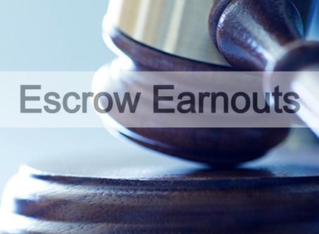 Escrow Earnouts