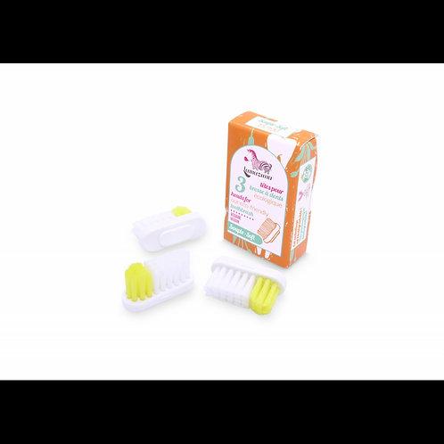 Recharges brosse à dent souple