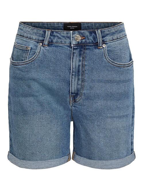 Short jean Joana light blue - Vero Moda