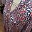 Thumbnail: Robe marine fleurie - C'est beau la vie