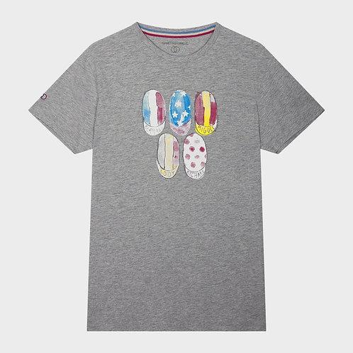 T shirt casquette peloton - Sports d'époque