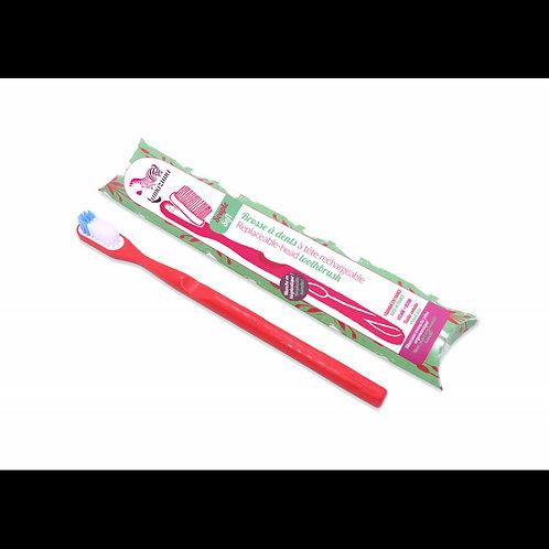 Brosse à dents rechargeable souple Lamazuna - Couleurs diverses