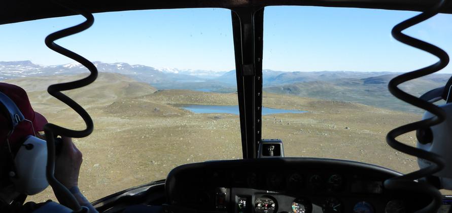 Approaching a field site