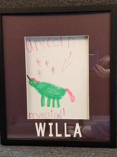 Child's Art Work Frame