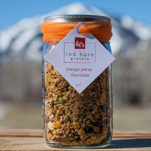 OUT OF STOCK cranberry orange chocolate pecan mason jar-12 oz