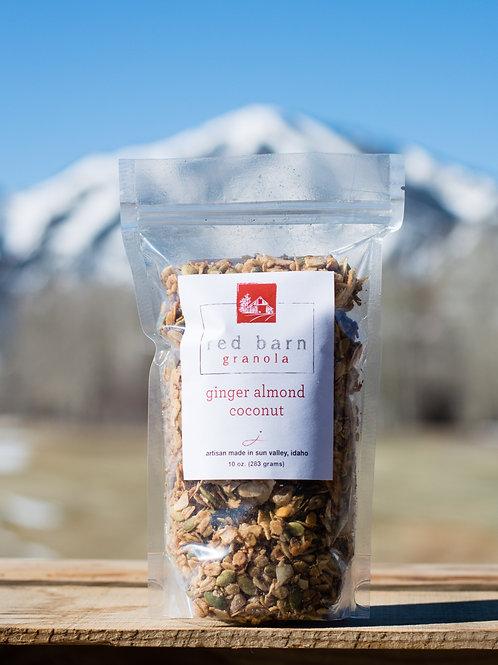 ginger almond coconut-10 oz