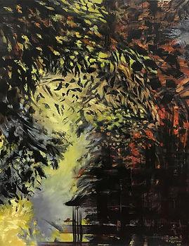 Roberte Pizzorni Mangrove 1 65 x 92 huil