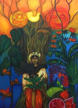 Celine Lorenzi Mexico (2008) • Huile sur