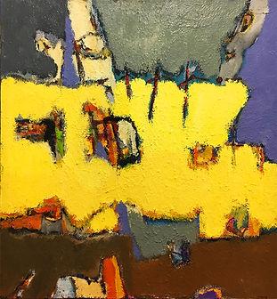 Anto Tomasini huile sur toile 80 cm x 80