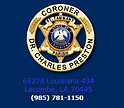 St. Tammany Parish Cororners Office Logo