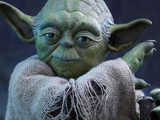 Playing Yoda in Raquetball