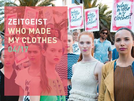 Fashion Revolution Week  vom 24.-30.04.17