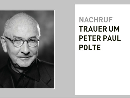 NACHRUF PETER PAUL POLTE