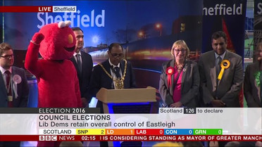 Sheffield by election report, Votes for Elmo increased by over 50%!