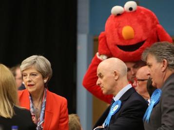 Elmo vs Theresa May. 2017 general election.