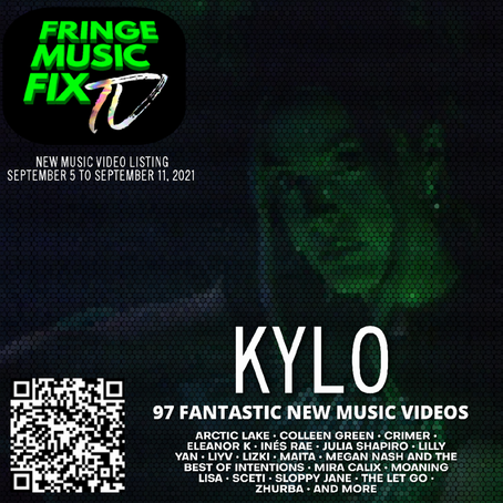 NEW MUSIC VIDEO LISTING: SEP 5 TO SEP 11, 2021