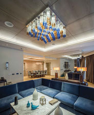 CROWN PLAZA HOTEL FLORYA - ISTANBUL ROYAL SUITE / PLAFONIERA