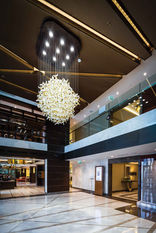 RENAISSANCE POLAT HOTEL BALMUMCU- ISTANBUL LOBBY ENTRENCE / GLASS INSTALLATION