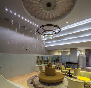 TITANIC HOTEL LARA-ANTALYA GALLERY / PENDANT LIGHTING INSTALLATION