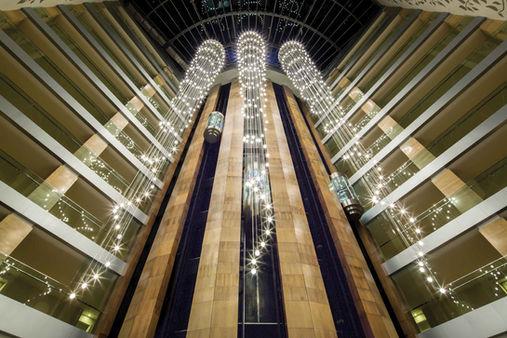 TITANIC HOTEL LARA-ANTALYA ATRIUM / PENDANT INSTALLATION