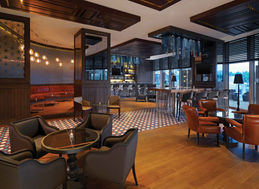 SHERATON HOTEL ADANA LOBBY BAR / LIGHTING