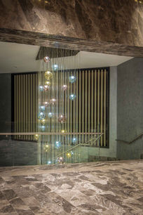 CROWN PLAZA HOTEL FLORYA - ISTANBUL FLORYA STAIRS HALL / GLASS INSTALLATION