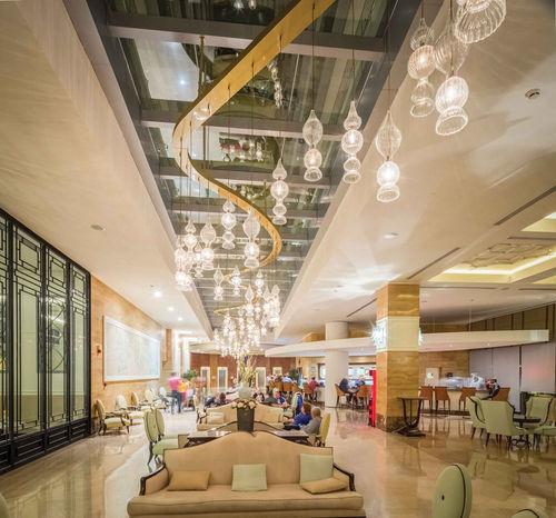 TITANIC HOTEL LARA-ANTALYA GALLERY / PENDANT LIGHTING INSTALLATION