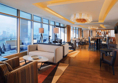 SHERATON HOTEL ADANA CLUB LOUNGE / LIGHTING