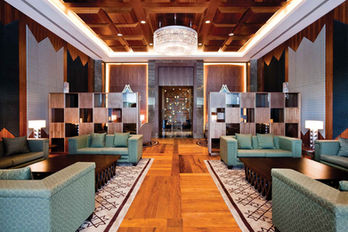 MALABO CONFERENCE CENTER AFRICA SPECIAL ROOM / CRYSTAL CHANDELIER