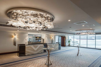GRAND TARABYA HOTEL ISTANBUL MEETING ROOM FOYER / CHANDELIER