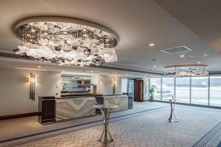 GRAND TARABYA HOTEL ISTANBUL MEETING ROOM FOYER / CHANDELIER