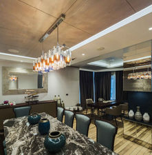 CROWN PLAZA HOTEL FLORYA - ISTANBUL ROYAL SUITE / CHANDELIER