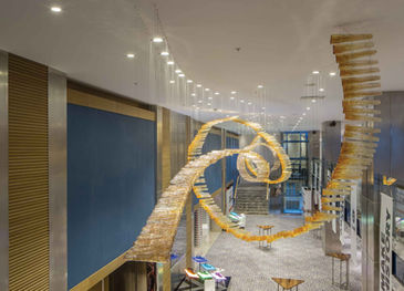 CROWN PLAZA HOTEL FLORYA - ISTANBUL FOYER / GLASS INSTALLATION