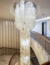 GRAND TARABYA HOTEL ISTANBUL STAIRS HALL / LIGHTING ART WORK